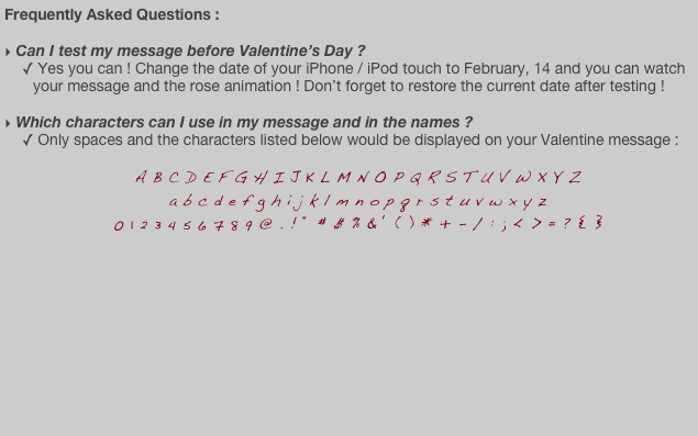 Frequently Asked Questions :